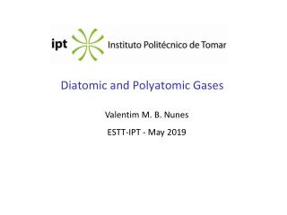 Diatomic and Polyatomic Gases