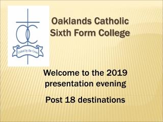 Oaklands Catholic Sixth Form College