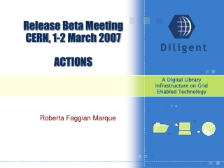 Release Beta Meeting CERN, 1-2 March 2007 ACTIONS