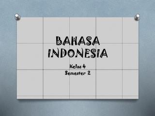 Baasa Indonesia