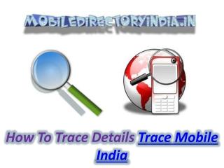 Trace Mobile India