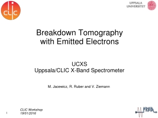 Breakdown Tomography with Emitted Electrons
