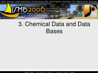 3. Chemical Data and Data Bases