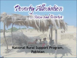National Rural Support Program, Pakistan
