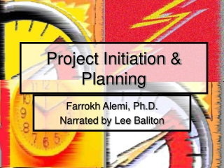 Project Initiation & Planning