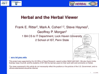 Herbal and the Herbal Viewer