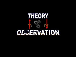 THEORY OBSERVATION