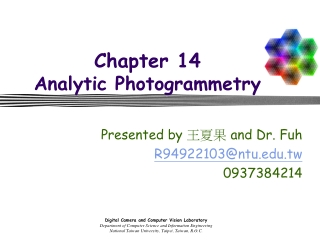 Chapter 14 Analytic Photogrammetry