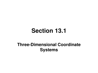 Section 13.1