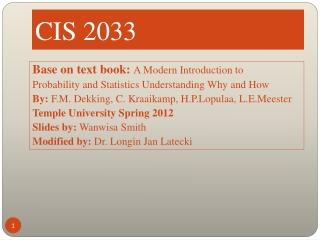 CIS 2033