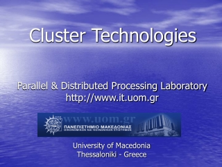 Cluster Technologies