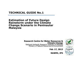 TECHNICAL GUIDE No.1