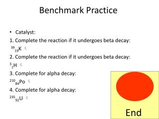 Benchmark Practice