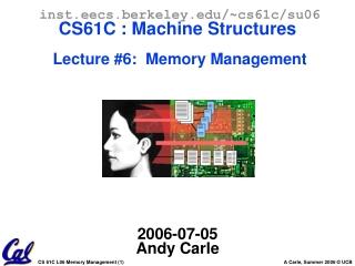 Memory Management (1/2)