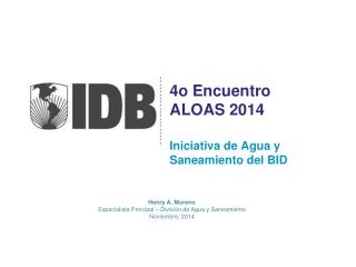 4o  Encuentro ALOAS 2014