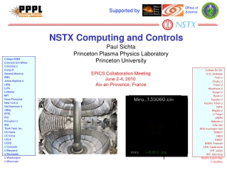 NSTX Computing and Controls