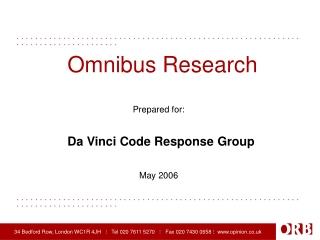 Omnibus Research