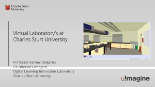 Virtual Laboratory's at Charles Sturt University