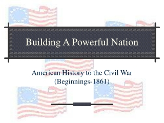Building A Powerful Nation