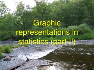 Graphic representations in statistics (part II)
