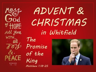ADVENT & CHRISTMAS in Whitfield
