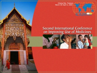 Influencing use of medicines in Lao PDR through NDP:  A decade of policies and choices