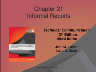 Chapter 21 Informal Reports