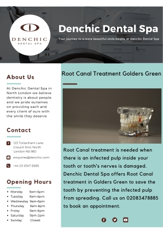 Root Canal Treatment Golders Green