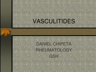 VASCULITIDES