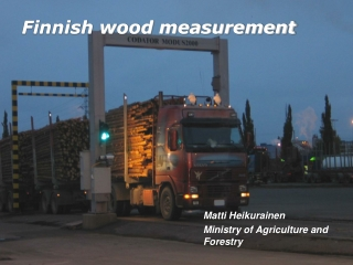 Finnish wood measurement