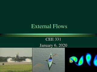 External Flows