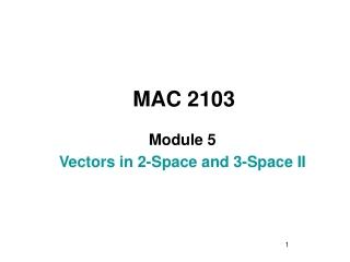 MAC 2103