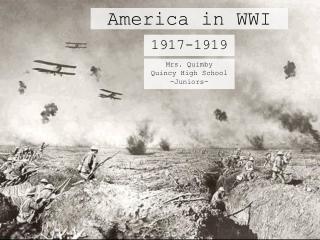 America in WWI