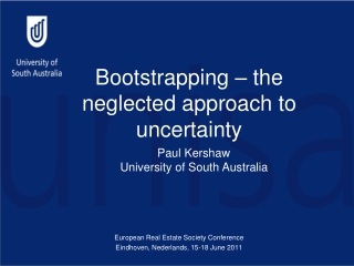 Bootstrapping – the neglected approach to uncertainty