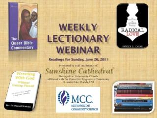 Weekly Lectionary Webinar