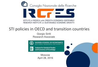 STI policies in OECD and transition countries