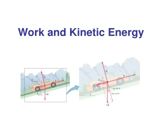 Work and Kinetic Energy