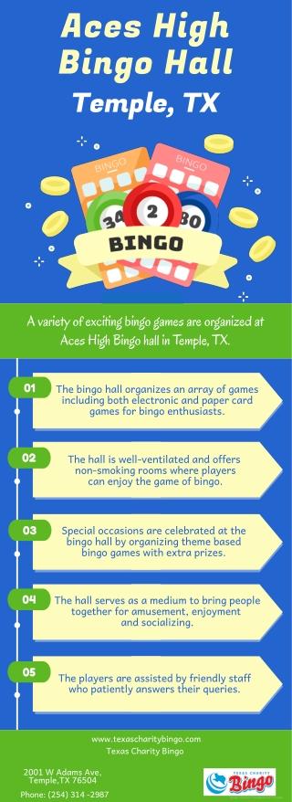 Aces High Bingo Hall Temple, TX