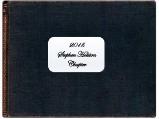2015 Stephen Holston Chapter