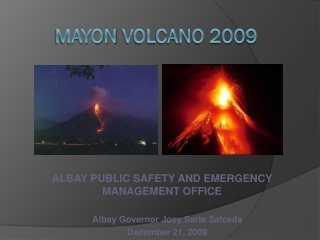 Mayon  Volcano 2009