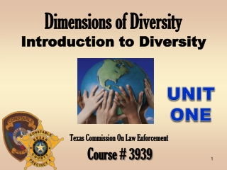 Dimensions of Diversity Introduction to Diversity