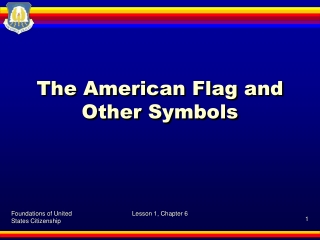 The American Flag and Other Symbols