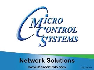Network Solutions mcscontrols