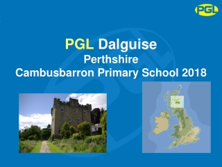 PGL  Dalguise Perthshire Cambusbarron Primary School 2018