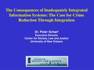 Why should local, state, and the federal government invest in integrated systems?
