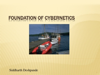 FOUNDATION OF CYBERNETICS