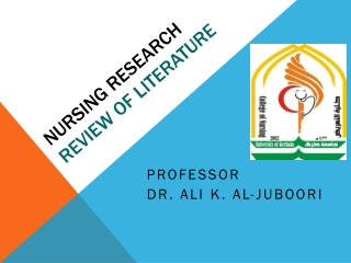 Nursing Research Review of Literature