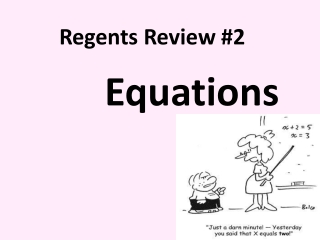 Regents Review #2