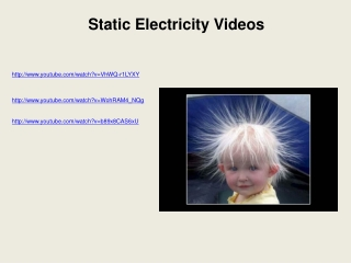 Static Electricity Videos youtube/watch?v=VhWQ-r1LYXY