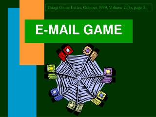 E-MAIL GAME